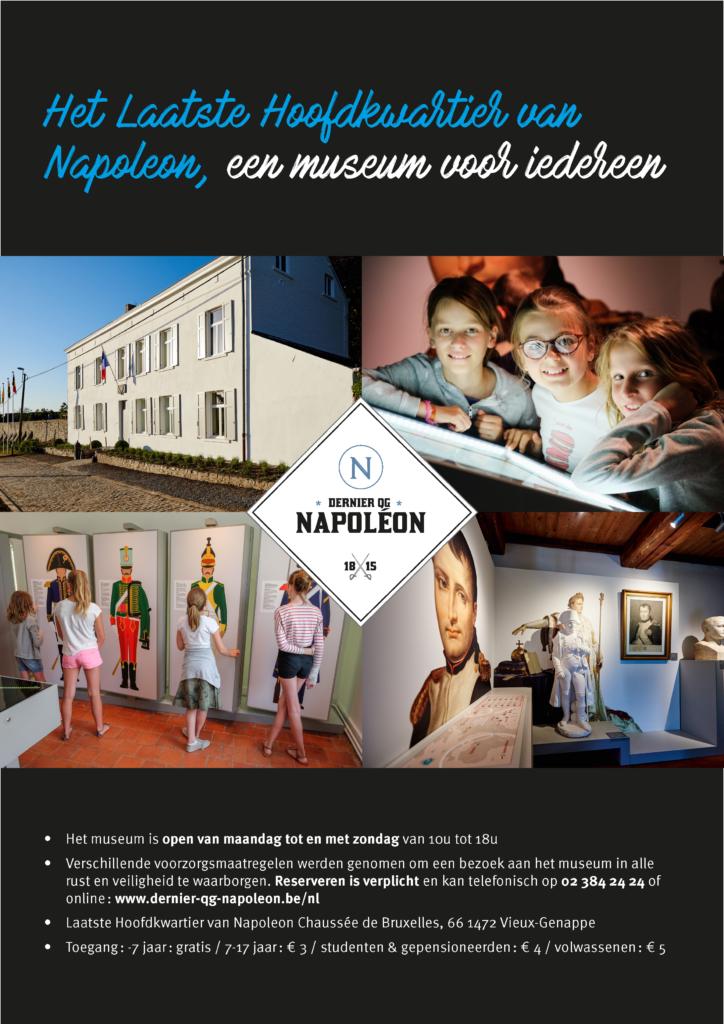 Het laatste hoofdkwartier van Napoleon, Vieux-Genappe
